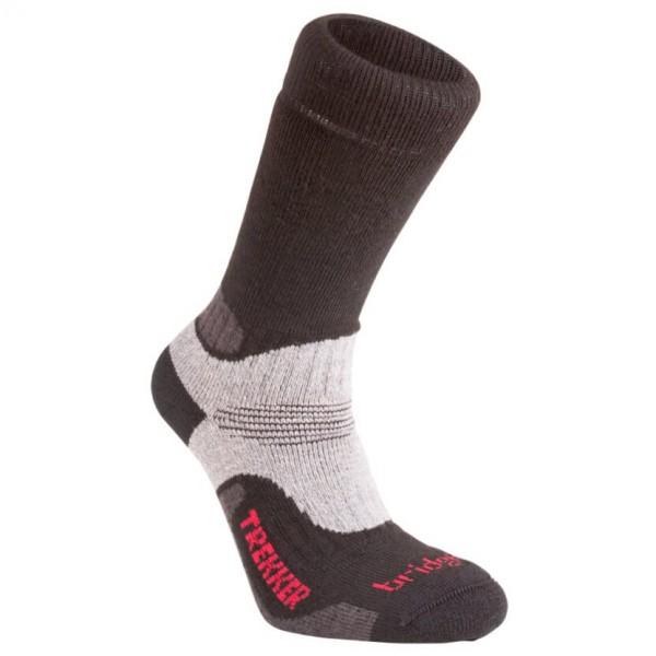 Bridgedale - Trekker WF - Socken Gr M schwarz/grau