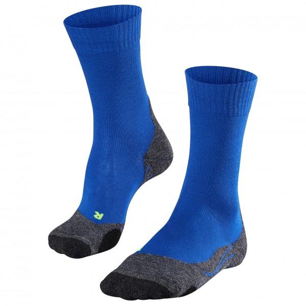 Falke - TK2 - Trekkingsocken Gr 42-43 blau/schwarz 16474-6714