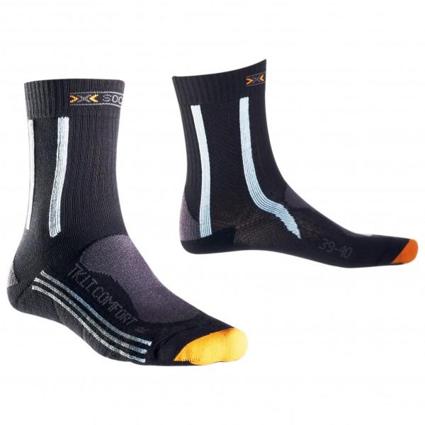 Schmogrow-Fehrow Angebote X-Socks - Women´s Trekking Light & Comfort Trekkingsocken Gr 2;3;4 schwarz/grau