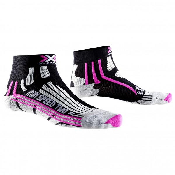 X-Socks - Women´s Run Speed Two Laufsocken Gr 41/42 schwarz/grau Sale Angebote Cottbus
