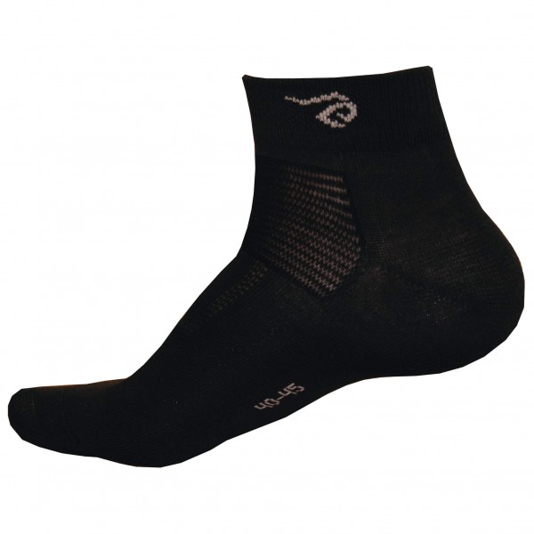 #Ivanhoe of Sweden – Wool Sock Low – Multifunktionssocken Gr 35-39 schwarz#