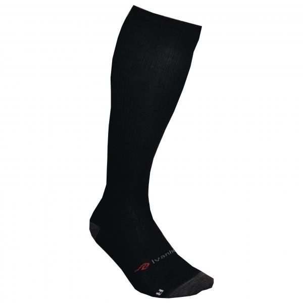 #Ivanhoe of Sweden – Wool Sock Compression – Kompressionssocken Gr 41-42 schwarz#