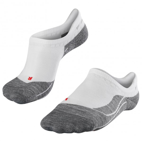 Falke - Womens Falke Ru4 Invisible - Running Socks Size 37-38  Grey
