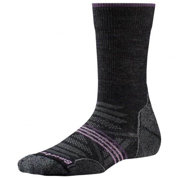 Smartwool - Womens Phd Outdoor Light Crew - Walking Socks Size L  Black