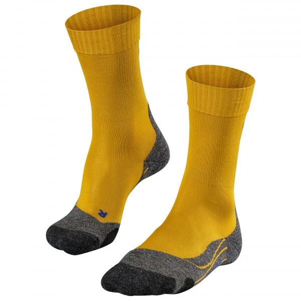 Falke - Tk2 Cool - Walking Socks Size 46-48  Orange/brown/black