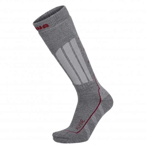 Lowa - Socken Alpin - Trekkingsocken Gr 45-46 grau Preisvergleich