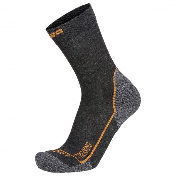 Lowa - Socken Trekking Trekkingsocken Gr 35-36;37-38;39-40;41-42;43-44;45-46;47-48 schwarz/braun;schwarz;schwarz/grau