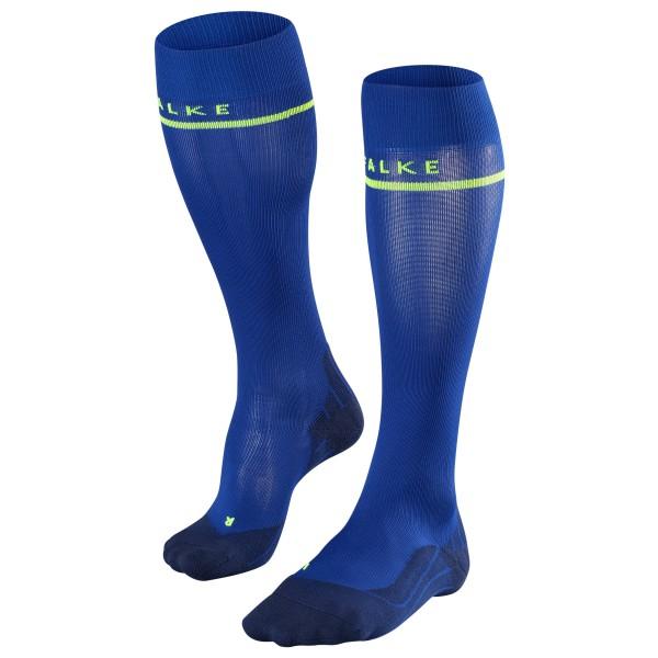 Falke - Energizing Kompressionssocken Gr 39-42 W2: Calf 30-35 cm;39-42 W3: 36-40 cm;43-46 W4: 41-46 cm blau;rot