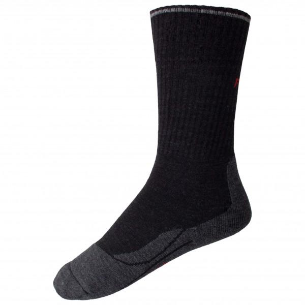 Falke - Womens Tk2 Wool Silk - Walking Socks Size 37-38  Black
