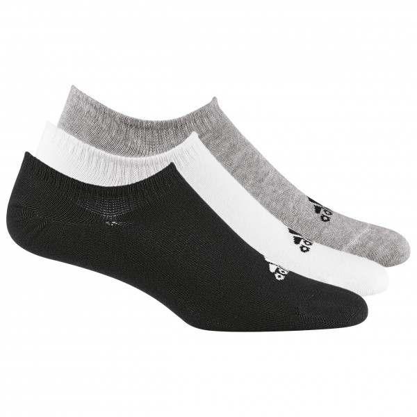 adidas - Performance Invisible Socks 3PP Gr 31-34 weiß/grau