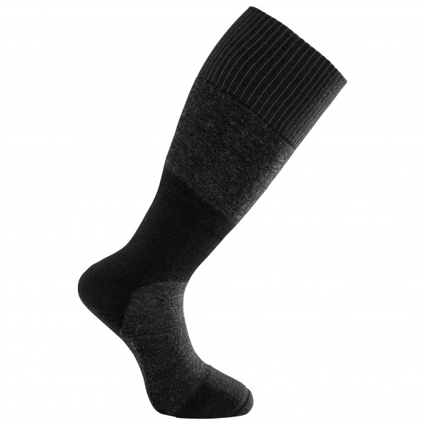 Woolpower - Socks Skilled Knee High 400 - Walking Socks Size 40-44  Black