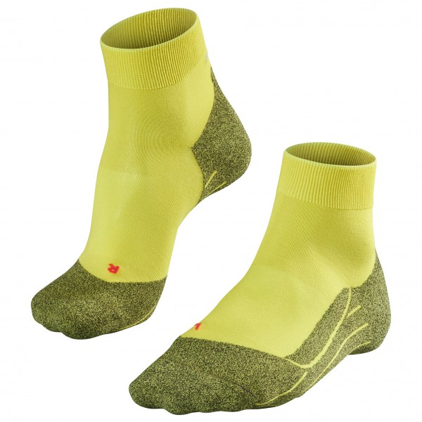 Falke - Ru4 Light - Running Socks Size 46-48  Yellow/olive