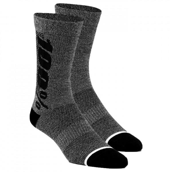 #100% – Rythym Socks Merino – Radsocken Gr S/M schwarz#