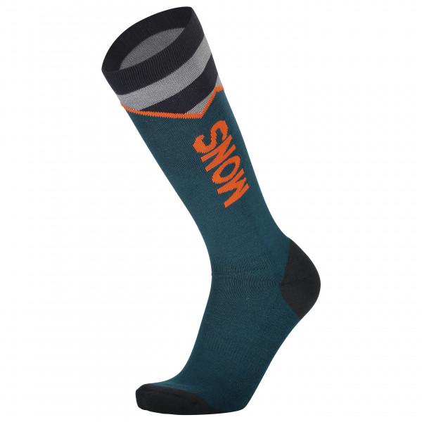 Mons Royale - Lift Access Sock - Merinosocken Unisex L;M;S | EU L;M;S schwarz 100127-1125