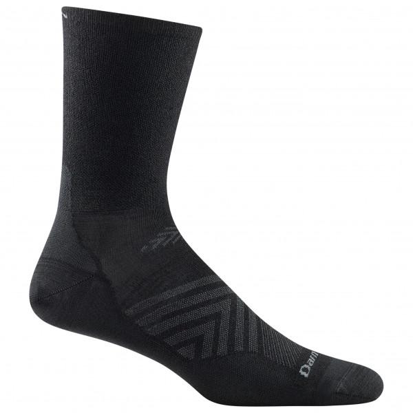 Darn Tough - Run Micro Crew Ultra-lightweight - Running Socks Size Xxl  Black