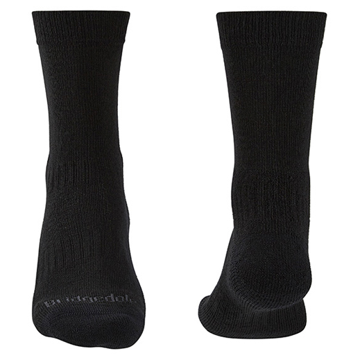 Bridgedale - Hike Lightweight Merino Performance - Walking Socks Size L  Black