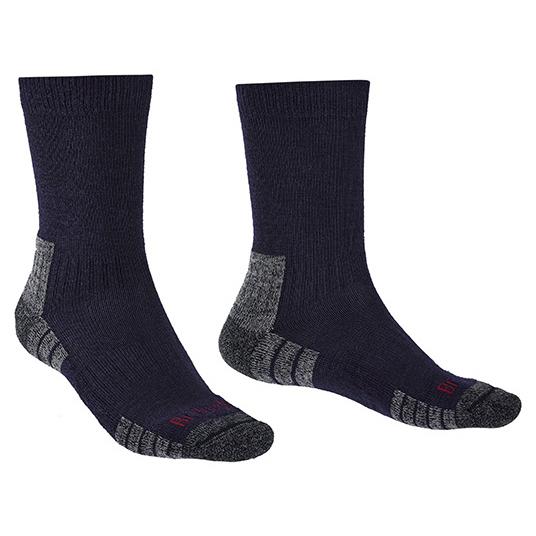 Bridgedale - Hike Lightweight Merino Performance - Walking Socks Size M  Black