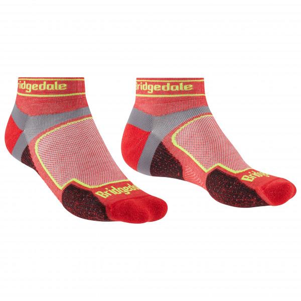 Bridgedale - Trail Run Ultralight Coolmax Sport Low I - Running Socks Size M  Red
