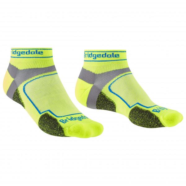Bridgedale - Trail Run Ultralight Coolmax Sport Low I - Running Socks Size L  Green
