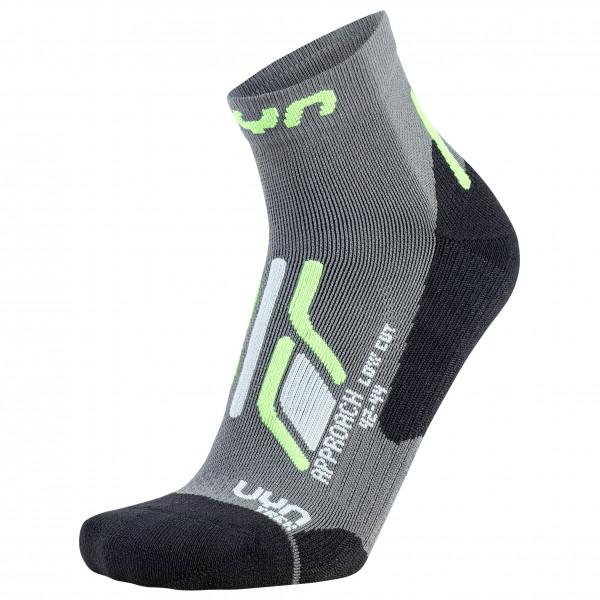 Uyn - Trekking Approach Low Cut Socks - Walking Socks Size 39/41  Grey/black