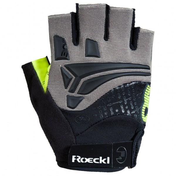 Roeckl - Inobe - Handschuhe - Gr. 6,5, schwarz/gelb
