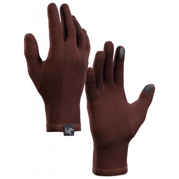 Arc'teryx - Gothic Glove - Handschuhe Gr XL braun/rot 396165