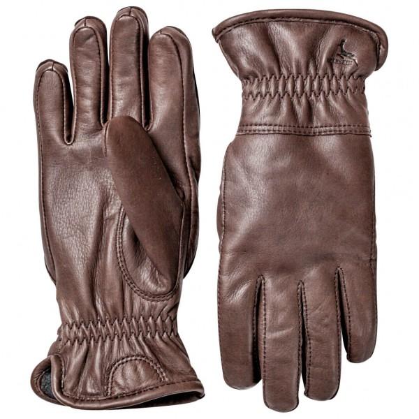 Hestra - Deerskin Winter - Handschuhe Gr 8 braun/grau/rot 20280-790-8