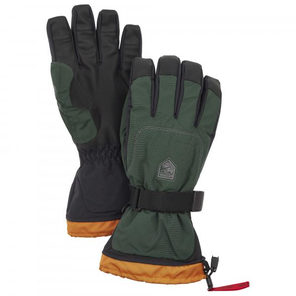 Hestra - Gauntlet Senior 5 Finger - Gloves Size 9  Black/olive