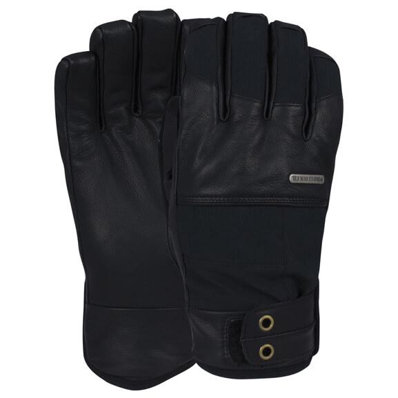POW Tanto - Snowboard Handschuhe für Herren Schwarz - broschei