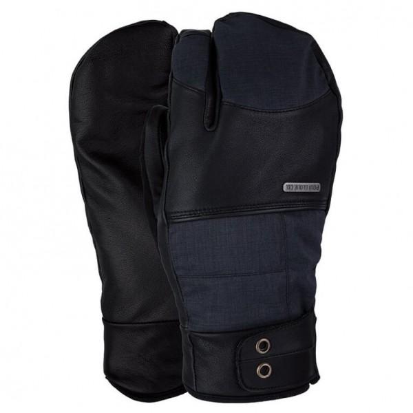 POW Tanto Trigger Mitten - Snowboard Handschuhe für Herren Schwarz - broschei
