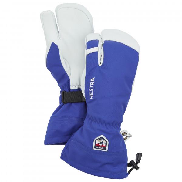 Hestra - Army Leather Heli Ski 3 Finger Handschuhe Gr 10;11;12;7;8;9 blau/grau;rosa/grau;grau;schwarz/weiß/grau;grau/türkis/schwarz;orange/weiß