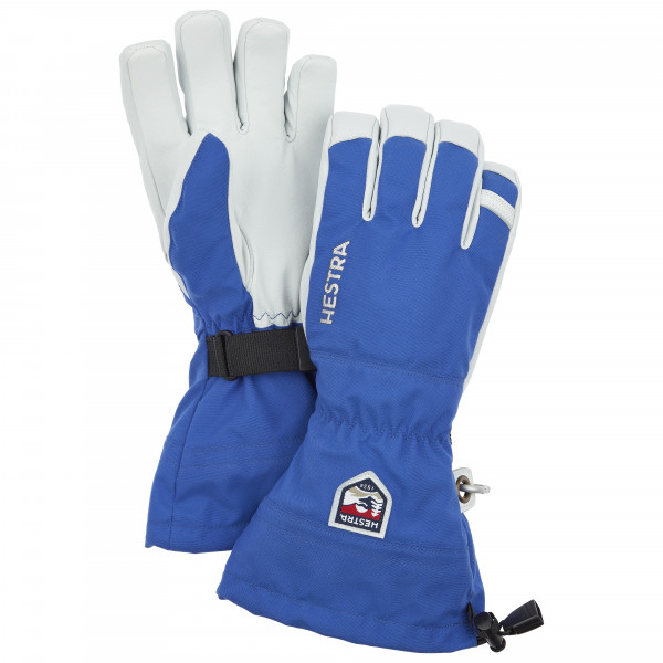 Hestra - Army Leather Heli Ski 5 Finger Handschuhe Gr 10;7;8 rot/grau;türkis/grau/schwarz;rot/weiß