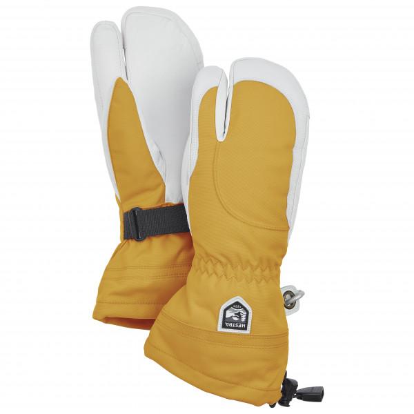 Hestra - Womens Heli Ski 3 Finger - Gloves Size 5  Orange/grey