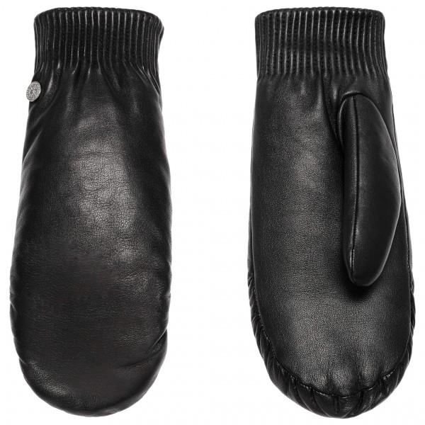 Canada Goose - Ladies Leather Rib Luxe Mitt - Handschuhe Gr L/XL schwarz Preisvergleich