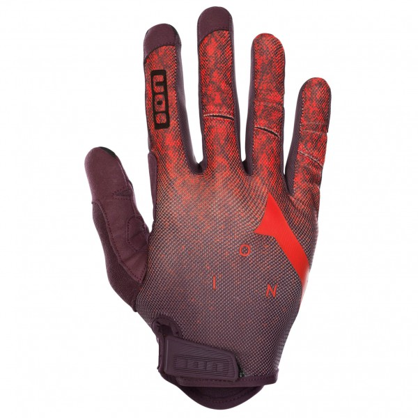 ION - Glove Path - Handschuhe Gr L rot/lila