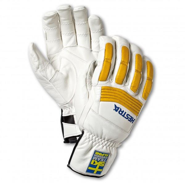 Hestra - Downhill Comp Ergo Grip - Handschuhe Gr 10;8;9 weiß/grau 30150