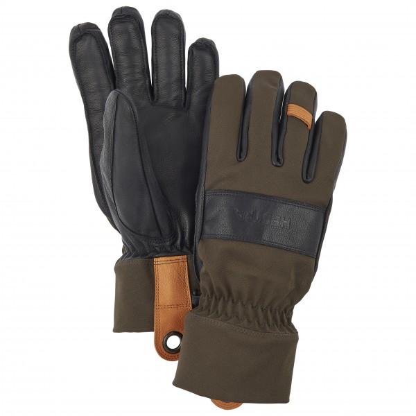 Hestra - Highland Glove - Handschuhe Gr 8 schwarz/braun