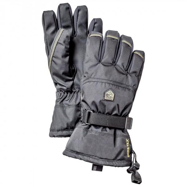 Hestra - Kids Gore-tex Gauntlet - Gloves Size 7  Grey/black