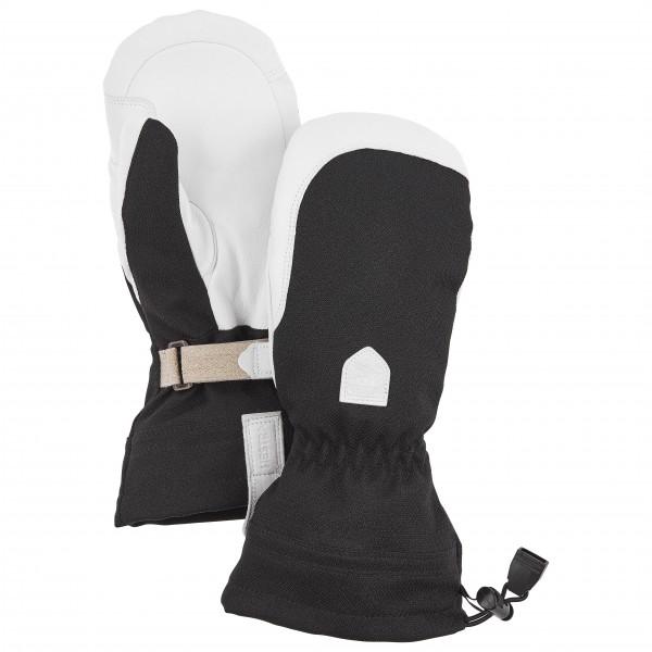 Hestra - Womens Patrol Gauntlet Mitt - Gloves Size 5  Black/grey/white