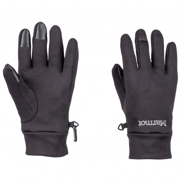 Marmot - Power Stretch Connect Glove - Gloves Size M  Black