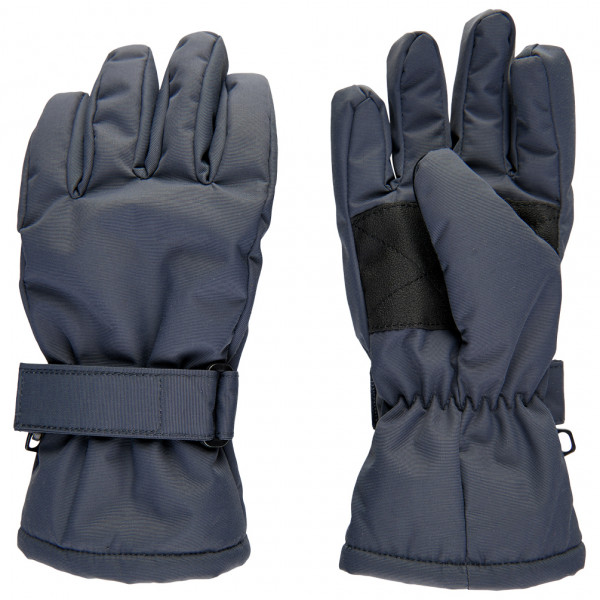 Minymo - Kid's Gloves Tussor Solid - Handschuhe Gr 6/8;8/10 schwarz/blau/grau 160441