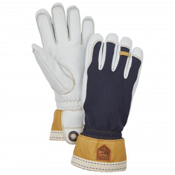 Hestra - Army Leather Tundra 5 Finger - Gloves Size 11  Grey/black