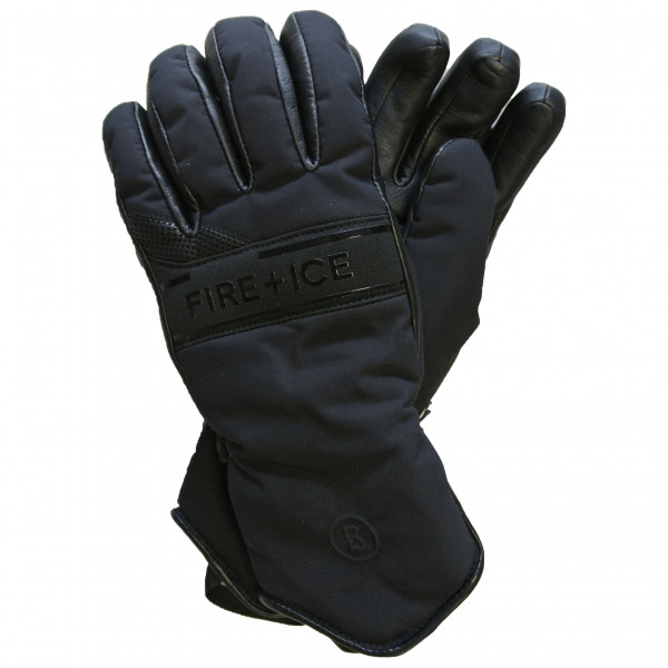 Bogner - Women's Isae - Handschuhe Gr 7;7,5 grau/schwarz 4996122