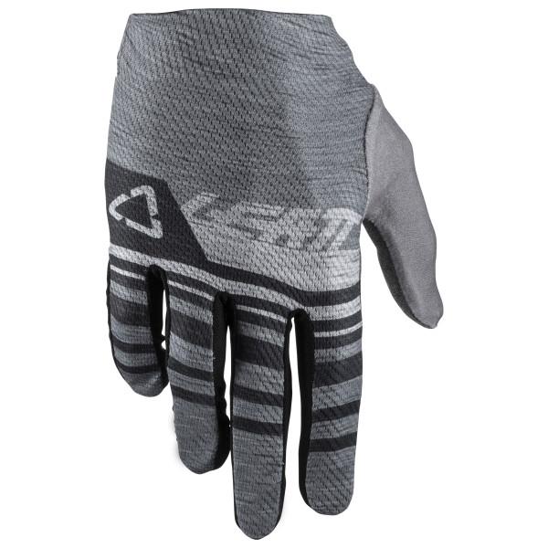 #Leatt – Glove DBX 1.0 GripR 2020 – Handschuhe Gr M grau/schwarz#