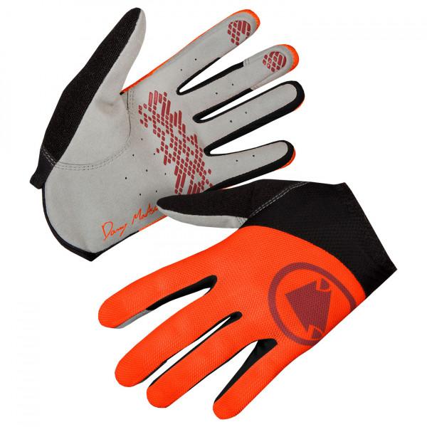 Endura - Hummvee Lite Icon Handschuh - Handschuhe Gr S grau/rot/schwarz