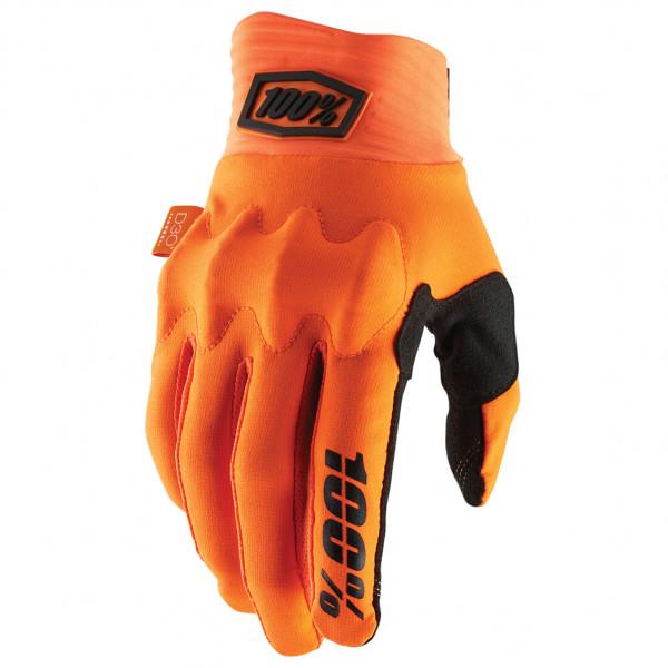#100% – Cognito Glove – Handschuhe Gr L orange/rot#