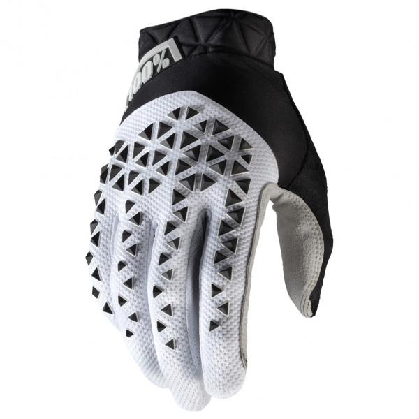 #100% – Geomatic Glove – Handschuhe Gr L grau/schwarz#