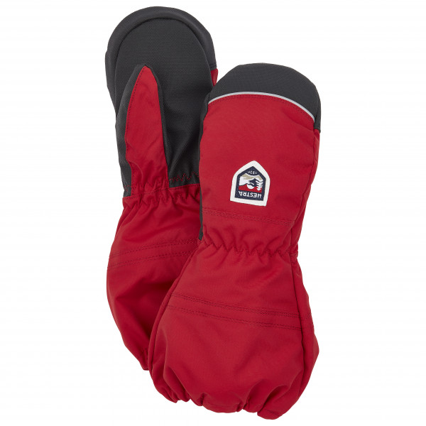 Hestra - Kids Akka Mitt - Gloves Size 7  Red/black