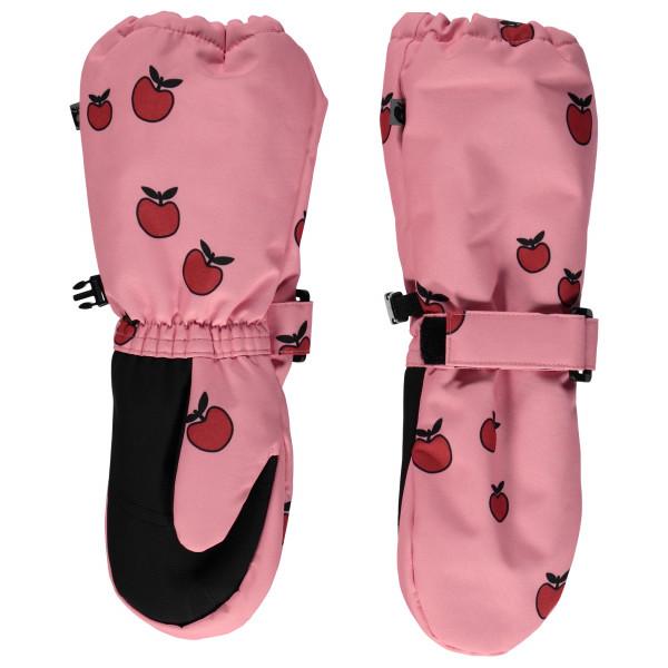 Smafolk - Kid's Apple Long - Handschuhe Gr 4-6 Years rosa/rot 03-9726