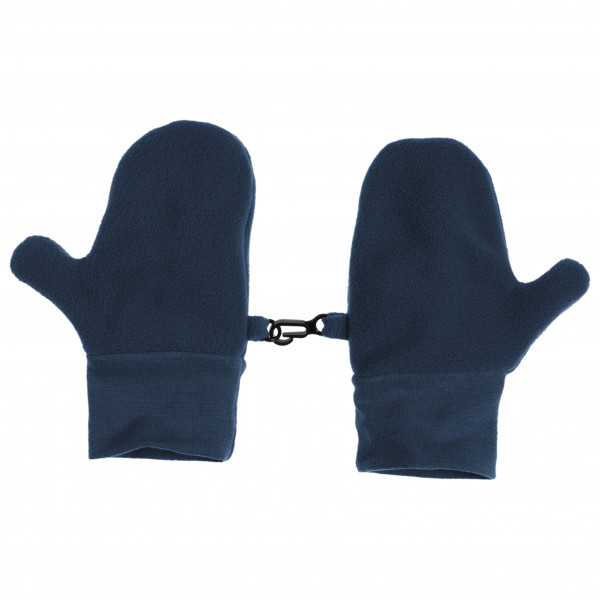 Image of Playshoes Kid's Fäustling Fleece Handschuhe Gr 1-2 Years;2-4 Years;4-6 Years;6-8 Years blau/schwarz;rot/rosa